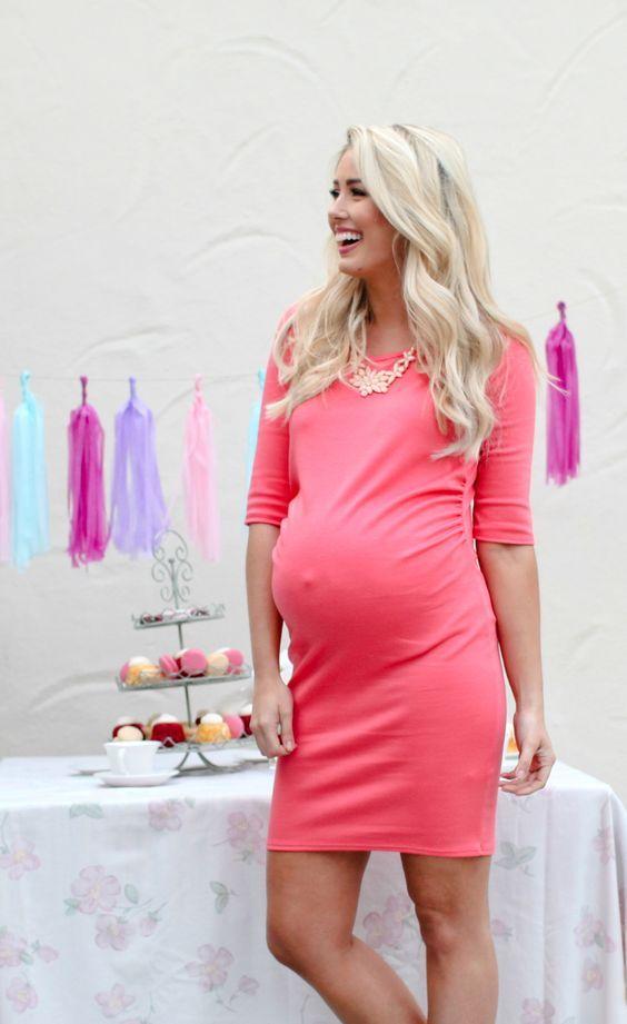 814541c40 Ideas de vestidos para Baby Shower para embarazadas
