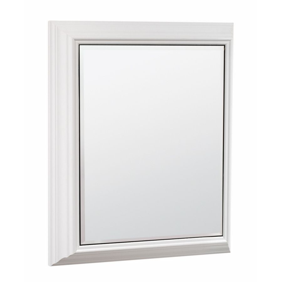 Mirrored Medicine Cabinet Lowes Cool Shop Estatersi 225In X 275In White Particleboard Surface Design Ideas