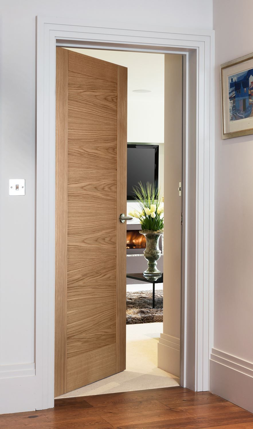 Wooden Internal Doors With: Contemporary Style Door For Modern