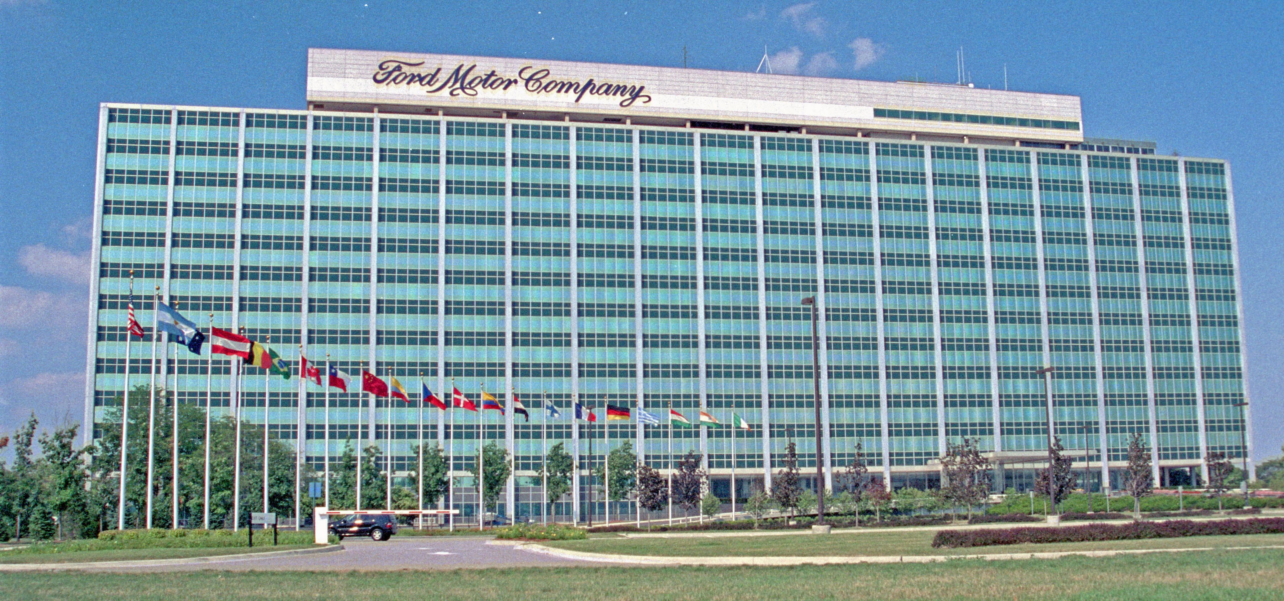 Ford World Headquarters Ford Motor Company Detroit Michigan