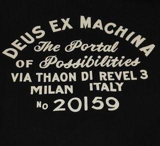 CobaltoStore: 🏴Deus Ex Maquina Milan Address Tee🏴 #deusexmachi...
