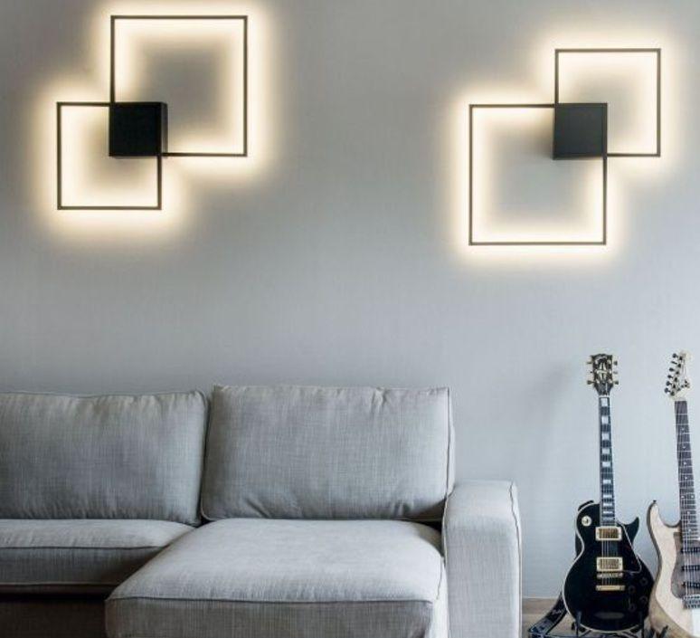 applique murale et plafonnier venn 1 0 noir led 2500lm h72 4cm l72 4cm wever ducr en. Black Bedroom Furniture Sets. Home Design Ideas
