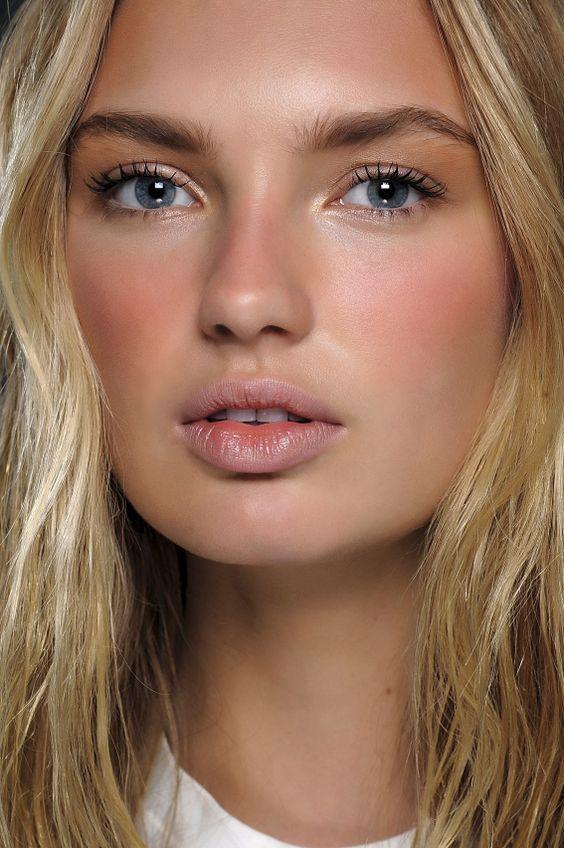 Maquiagem natural no melhor estilo No Makeup Maquillaje - maquillaje natural de dia