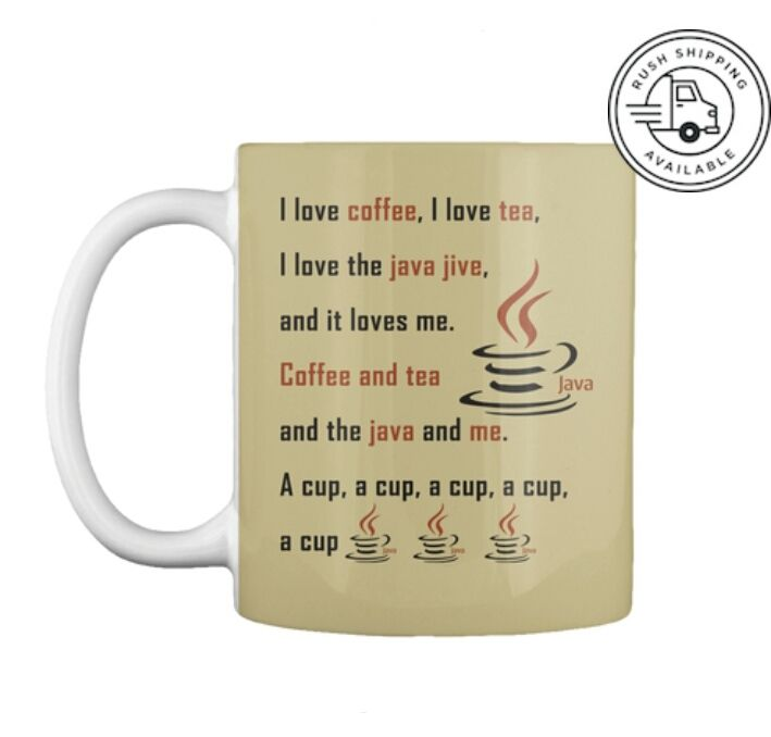 Java Mug Only At 13 99 Discounted Price Are You A Java Programmer And Love Manhattan S Java Gifts For Programmers Computer Programming Computer Programmer