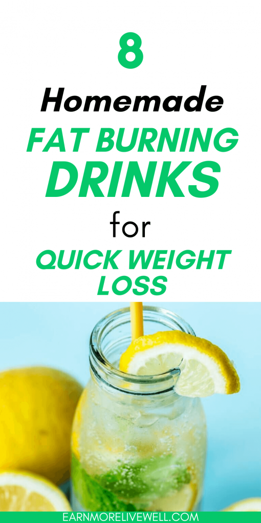 8 Homemade Fat Burning Drinks That Burn Belly Fat Painlessly