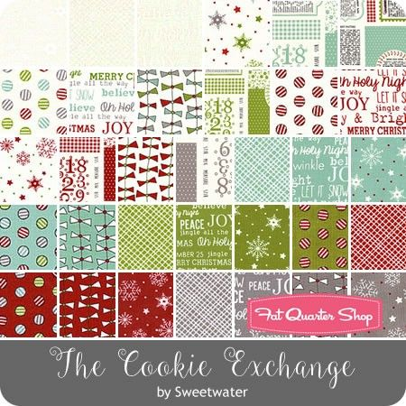The Cookie Exchange MINI Charm Pack Sweetwater for Moda Fabrics ...