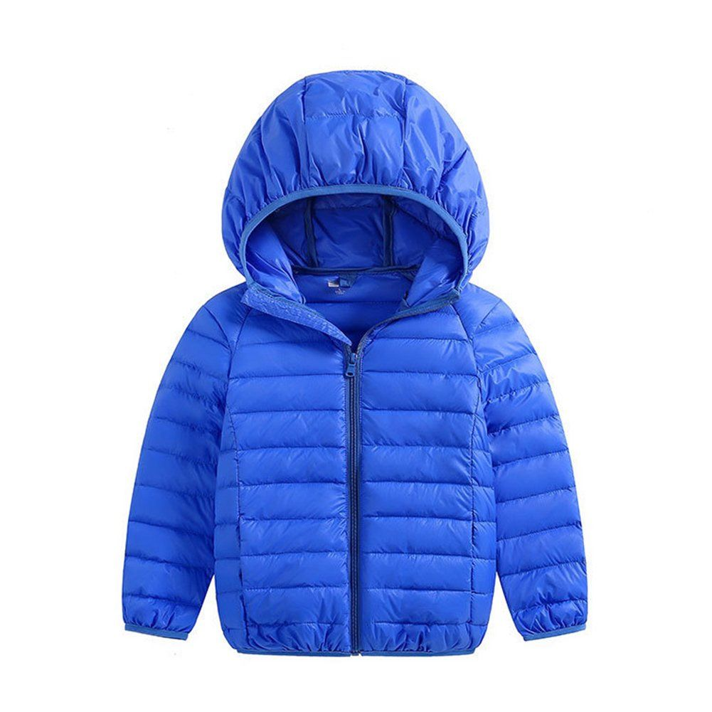 e8598d9fb FOUNDO Kids Boys Girls Warm Puffer Jacket Winter Hooded Down Coat ...
