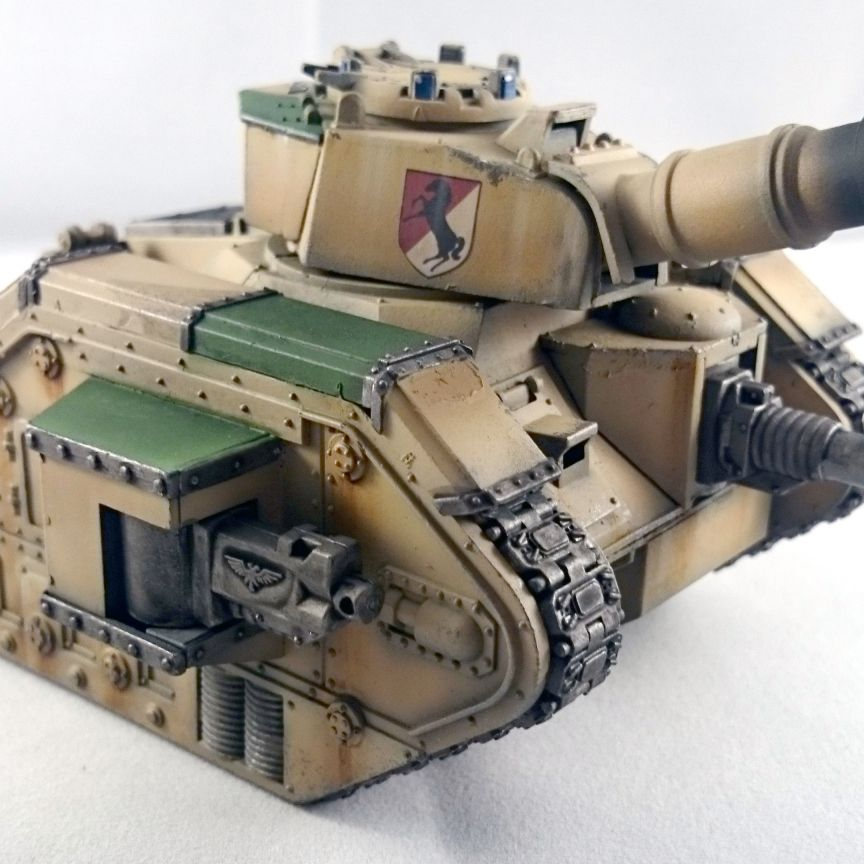 11th ACR Leman Russ from Mercenary Miniatures - Warhammer 40k