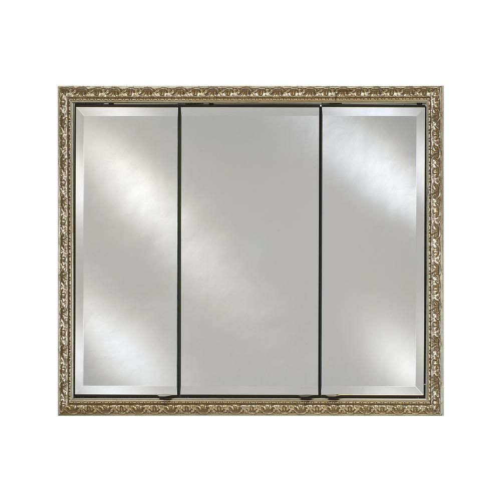 Afina Signature Triple Door 44 In X 30 In Recessed Or Surface