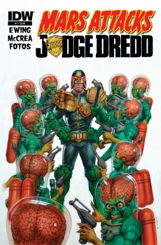 Mars Attacks vs Judge Dredd