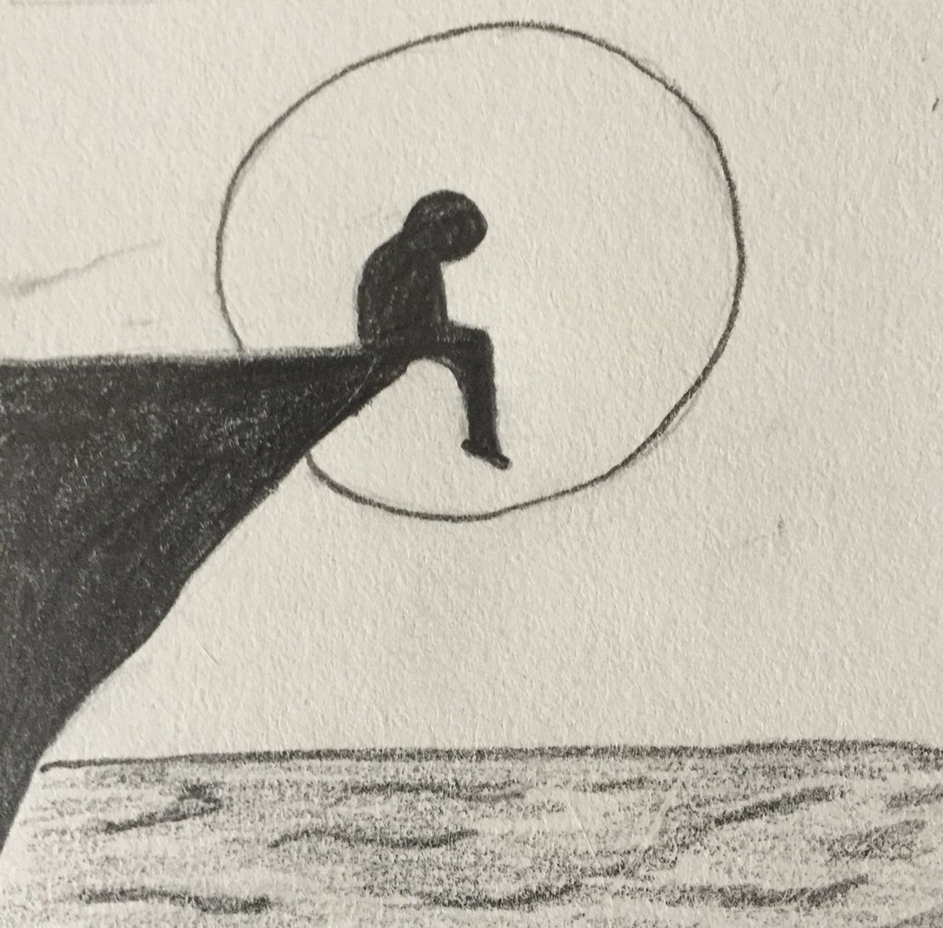 Lonely art in pinterest drawings art and easy drawings