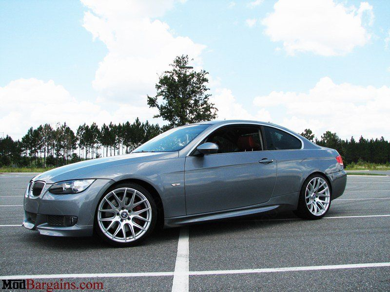 M3 Style Side Skirts For 2007 12 Bmw 3 Series Coupe Vert E92 E93