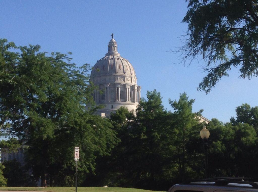 Missouri state Capitol Dome