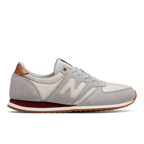 420 New Balance Women's Running Classics Shoes - Silver/Grey (WL420SCB)