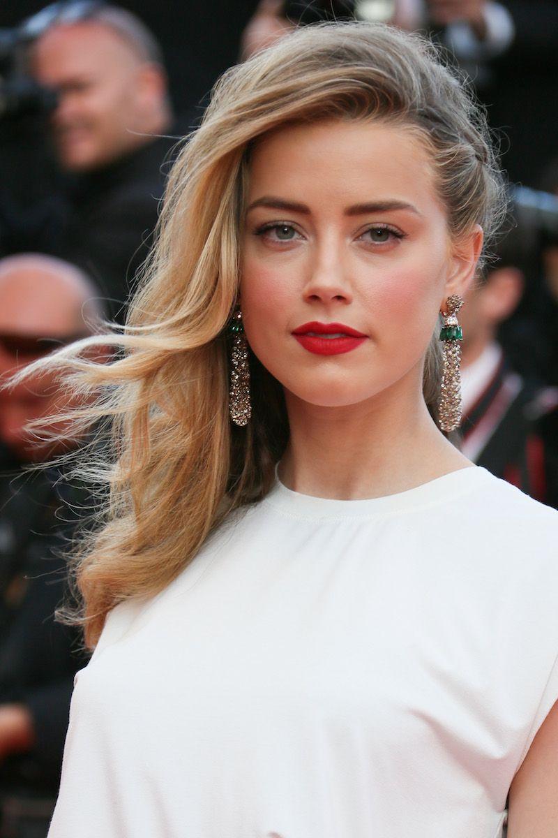 Bridal Beauty Buzz: Steal Amber Heard's Wedding-Worthy Look