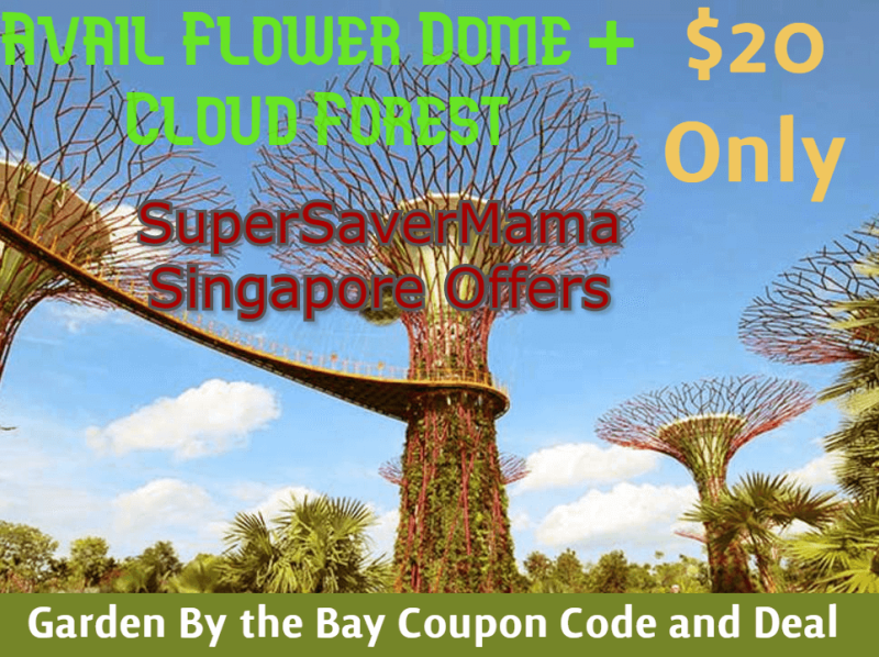 Gardens By The Bay Promotion Code