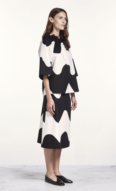 440eb68c7ba5 Salli Lokki shirt by Marimekko   Marimekko Dresses   Skirts   Shirts ...