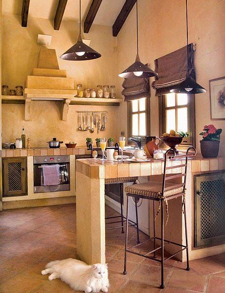 6 mobila inzidita bucatarie rustica open space casuta 50 for Cocinas integrales rusticas