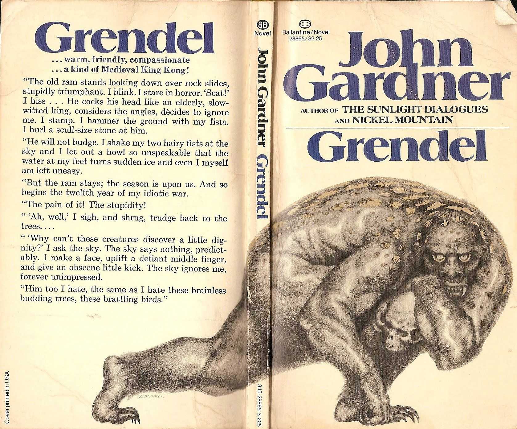 Grendel - John Gardner | My Books - A Cover Gallery | Pinterest ...
