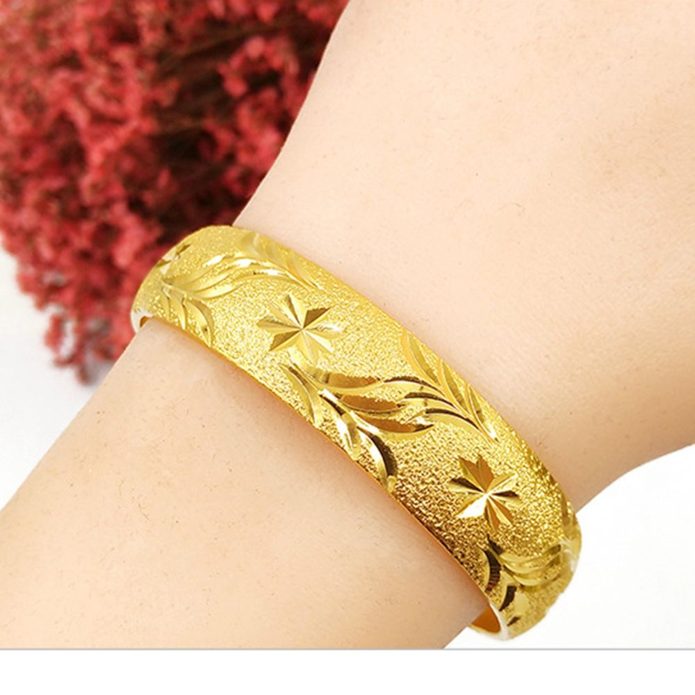Classic womens wedding bridal bangle bracelet dubai bangle jewelry