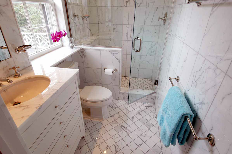Important Points When Install Toiletin General There Are Two Captivating Marble Bathroom Designs Decorating Design