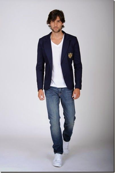 Numix  MODA MASCULINA  BLAZER Camisa De Jean Hombre 93b0794eeee