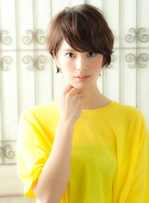 【ショートヘア】30・40代滝川クリステル風美人ショート/MINX aoyama