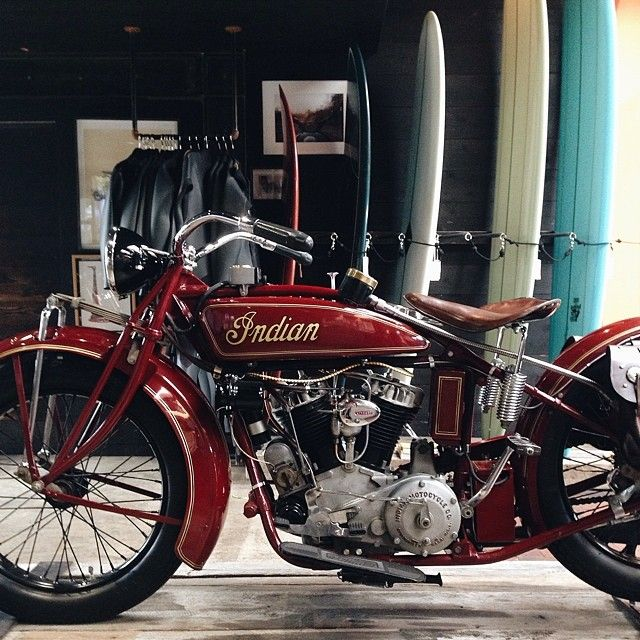 1927 Indian Motorcycle Big Chief Formerly Owned By Stevemcqueen