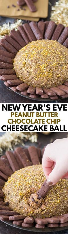 New Year's Eve Cheesecake Ball | The First Year