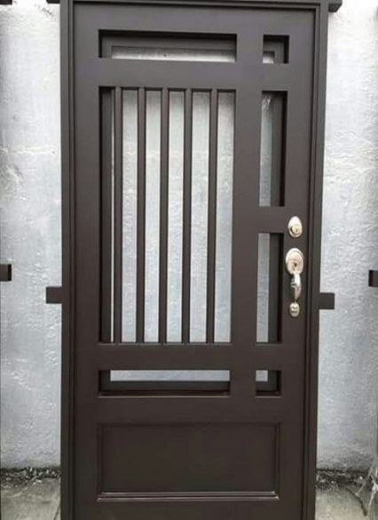 Pin By Joey On Pintu Gerbang In 2020 Metal Doors Design Steel Door Design Iron Door Design