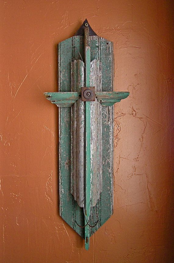 95d4f5e83ad Rustic cross from salvaged materials. Very pretty and unusual crosses in this  etsy shop.