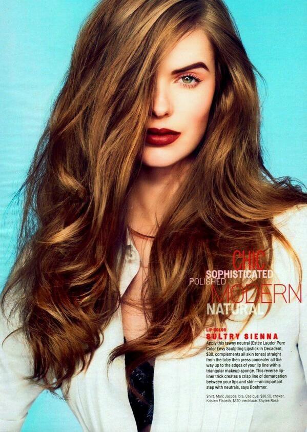 Robyn Lawley for Cosmopolitan US, May 2014