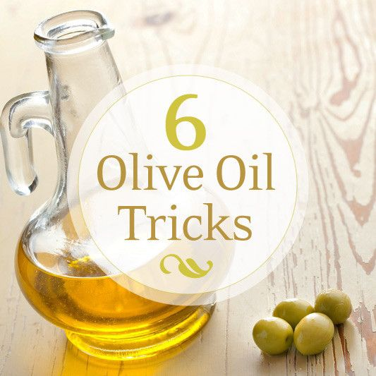 Burn The Midnight (Olive) Oil: 6 Household Tricks