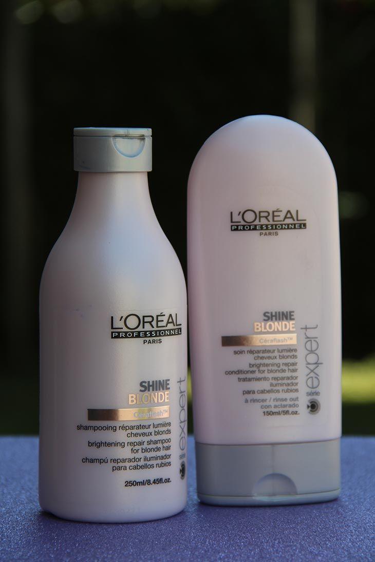 b93f11640 Shampoo e condicionador Shine Blonde, L'óreal Professionnel ...