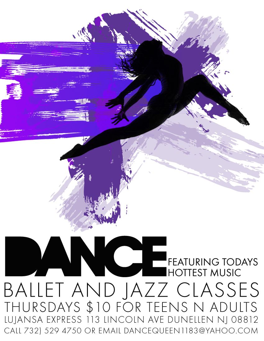 dance flyer | Dance Flyer | invitations | Pinterest