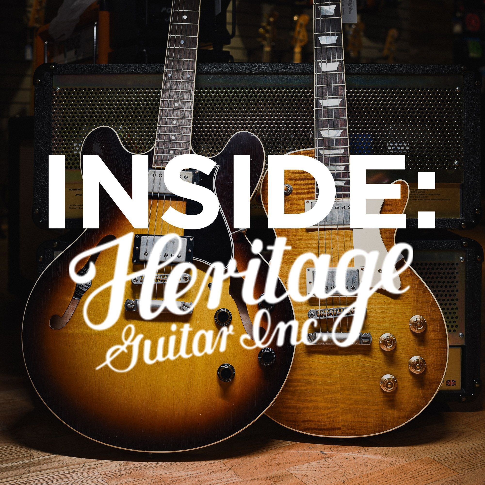 Inside Heritage Guitar Photography Musical Paraphrases Paraphrase