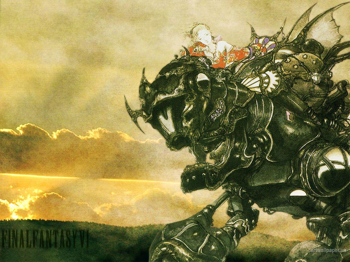 Amano Yoshitaka Final Fantasy Vi Wallpapers 43 1152x864 Yoshitaka Amano Wallpaper Fantasy