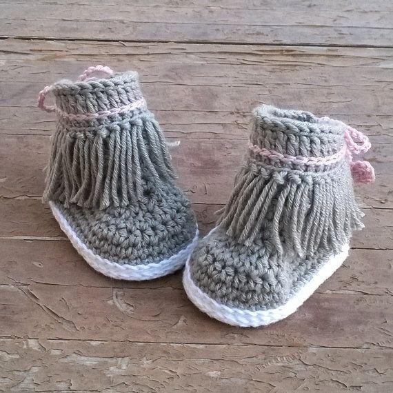 Crochet PATTERN. Dakota baby sneakers | Patrones, Zapatos y Bebé
