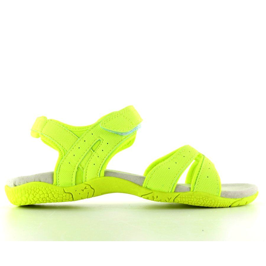 Sportowe Sandaly Damskie 7s Bi86056e Neon Green Zolte Shoes Sandals Fashion