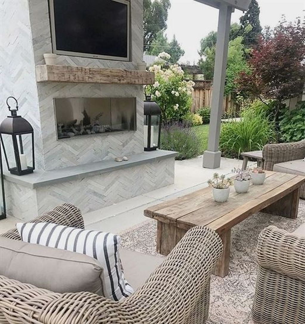 40 Admirable Outdoor Fireplace Designs Ideas To Beautify Your Backyard Outdoor Fireplace Designs Outdoor Living Space Design Outdoor Living Rooms