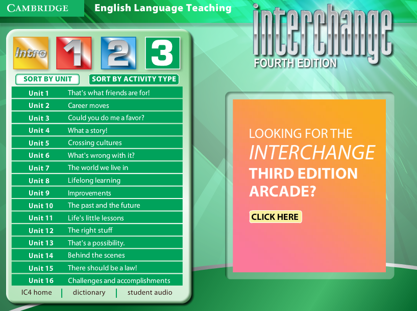 Interchange level 3 video resource book