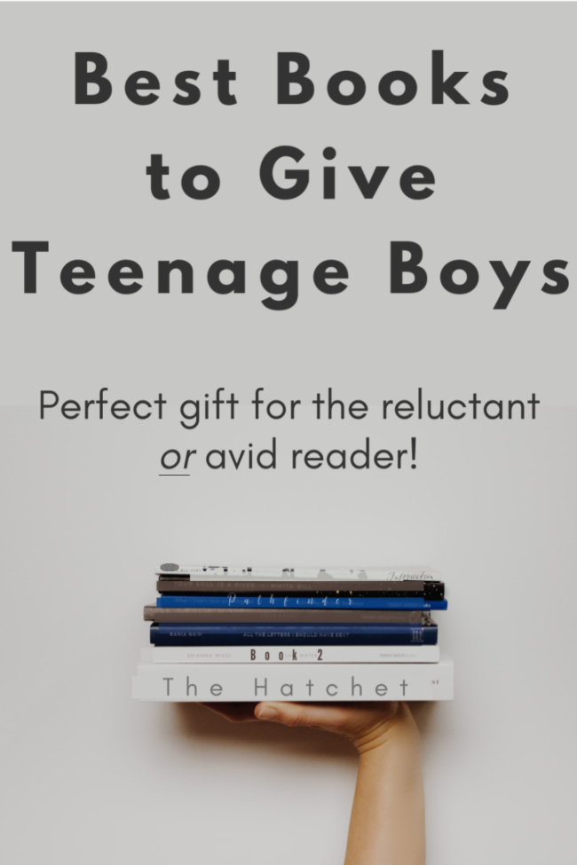 Best Books To Give As Christmas Gifts 2020 Best Books to Give Teenage Boys as Gifts   Christmas Mom in 2020