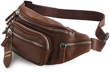 Brown Leather Bag,Fanny Pack,Belt Bag,Duck Canvas Bag,Festival Bag,Travel Bag,Hands Free Bag,Spring Look,Funny Pack,dark brown handbag