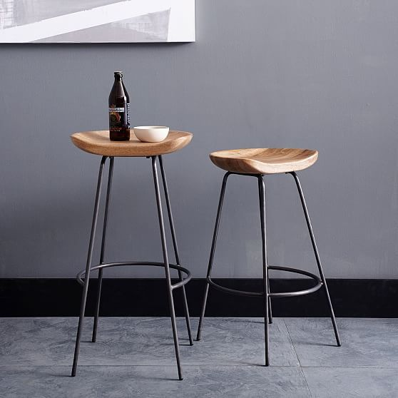 Alden Bar + Counter Stools - Steel | Products