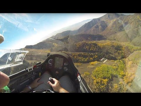 Stunning Fall Colors Seen from a Glider - YouTube