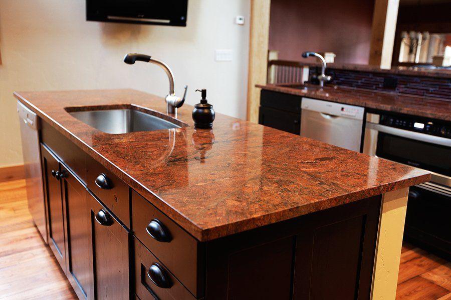 Red Granite Countertop Granite Countertops Red Granite Countertops Kitchen Countertops