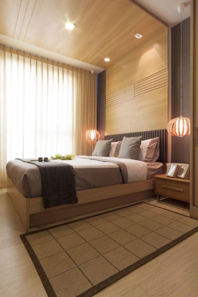 Hervorragend Schlafzimmer Ideen Gestaltung Braun Holz Moderne Einrichtung