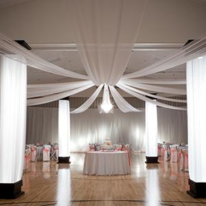 1 Toronto Ceiling Drapes Ceiling Drapery Toronto Wedding Event Rentals Wedding Reception Prom Decor Wedding Reception Backdrop