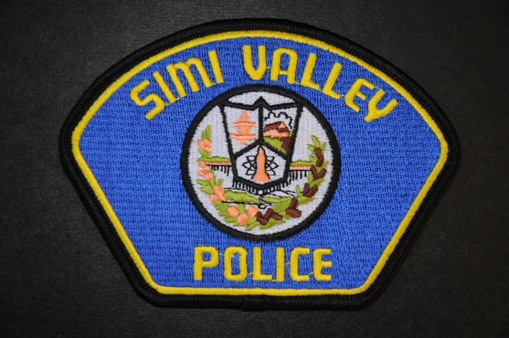 Simi Valley Police Patch Ventura County California Vintage
