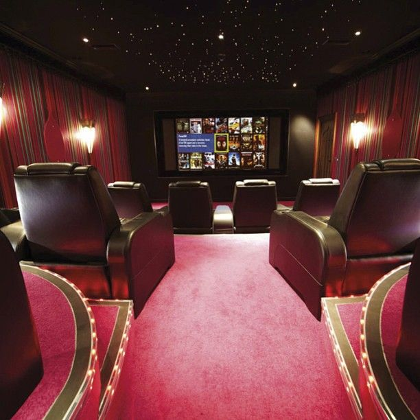 21 Incredible Home Theater Design Ideas Decor Pictures: Home Cinema Room, Home Theater
